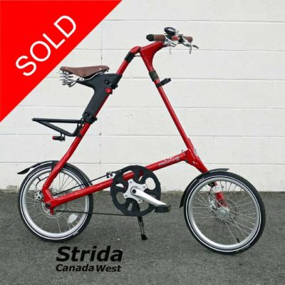 Used Strida Red EVO