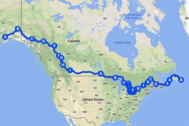 Alaska Strida Adventure