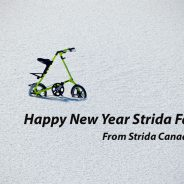 Happy New Year Strida Fans
