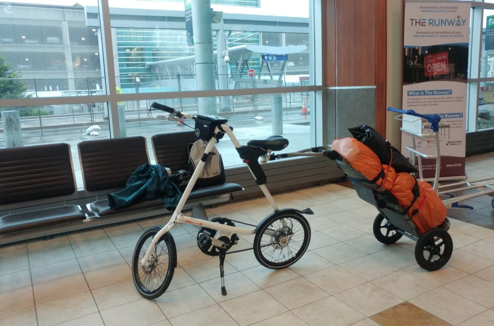 Traveling With My Strida